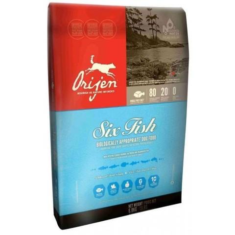 ORIJEN 6 FISH DOG 85.15 ГИПОАЛЛЕРГЕННЫЙ НА ОСНОВЕ РЫБЫ 11.4 кг