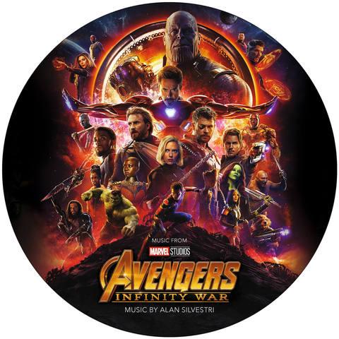 Виниловая пластинка. Music From Avengers Infinity War