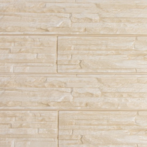 Фасадные панели (Цокольный Сайдинг) Доломит Кубанский Песчаник Крем