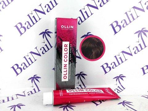 OLLIN COLOR 4/4 шатен медный 60мл Перманентная крем-краска для волос