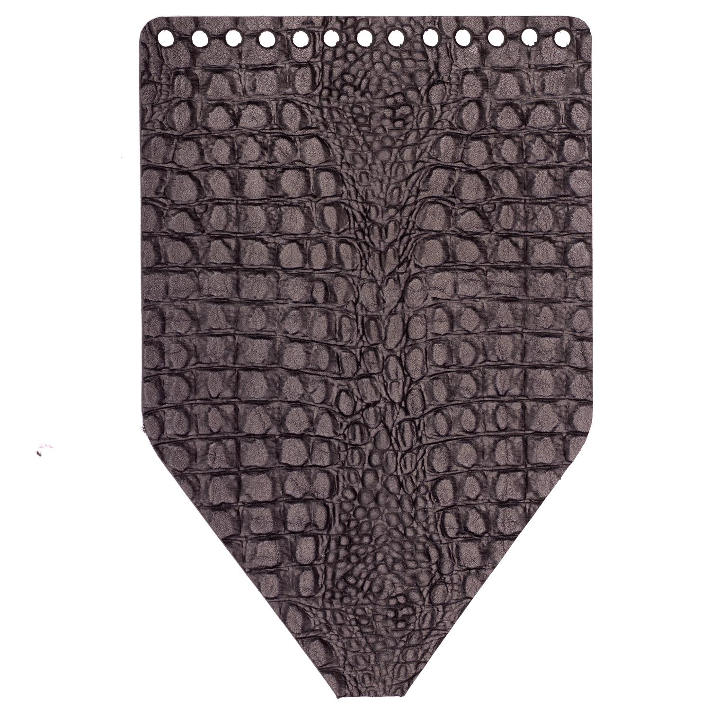 """Вся фурнитура Клапан для рюкзачка кожаный """"Крокодил"""" IMG_2618.jpg"""