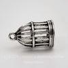 """Подвеска """"Птичья клетка"""" 23х15х15 мм (цвет - античное серебро)"""