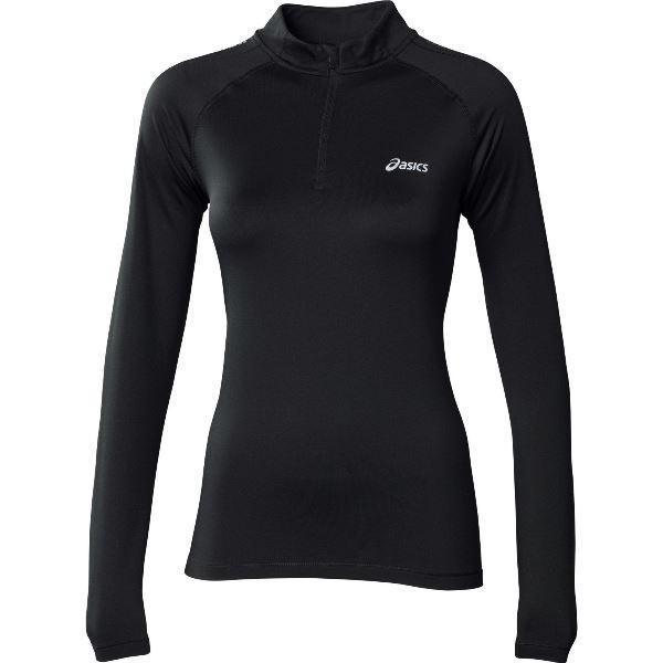 Женская беговая рубашка асикс Ess Winter Zip (114639 0904)