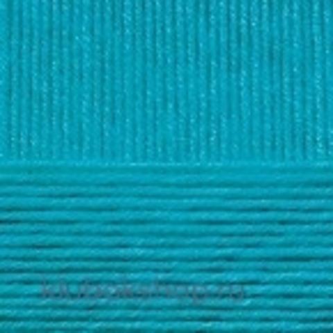 Пряжа Детская объемная (100 г/ моток) Пехорка 45 Темная бирюза - купить в интернет-магазине недорого klubokshop.ru