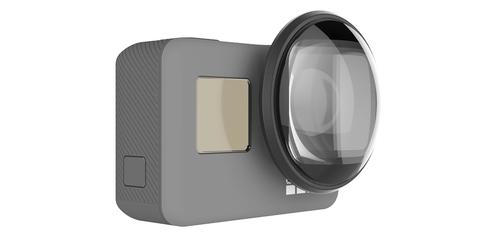 Макролинза PolarPro для HERO5 Black и HERO6 Black на линзе камеры