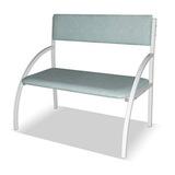 Банкетка со спинкой - кресло 1-местная (бюджет)