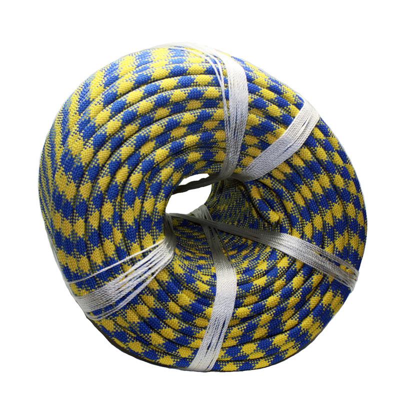 Веревка плетеная ПА d 14мм 24пр с/с