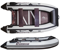 Лодка надувная Polar Bird 320 Merlin (Фанера)