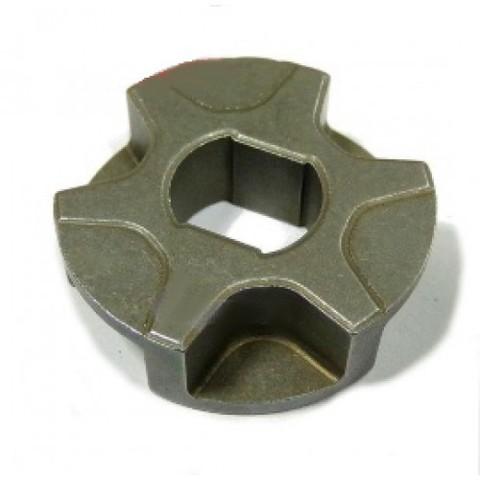 Звездочка на 6 зацепов для электропилы D-30, d=9/12, Н-9 mm