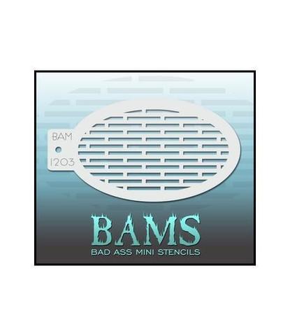 Трафарет BAMS 1203