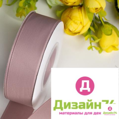 Лента репсовая 2,5см (пенка розовая № 234)
