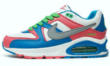 Кроссовки женские Nike Air Max Skyline Blue Green Red
