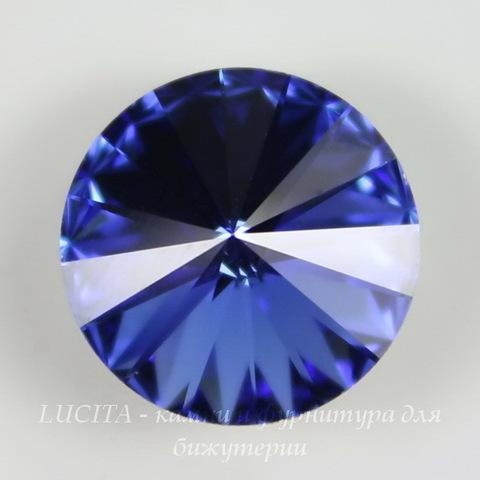 1122 Rivoli Ювелирные стразы Сваровски Sapphire (14 мм)