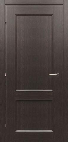 Дверь Краснодеревщик 3323, цвет чёрный дуб, глухая