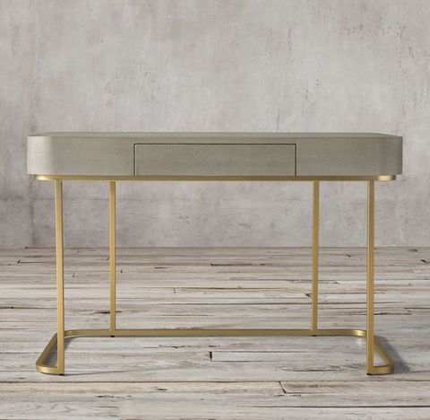 Graydon Shagreen Writing Desk