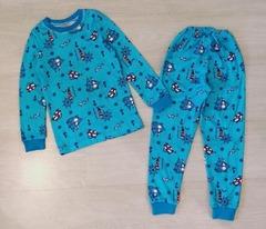 24D-1 пижама детская, голубая