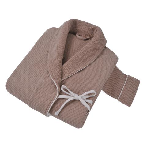 Элитный халат женский Tosya коричневый от Hamam