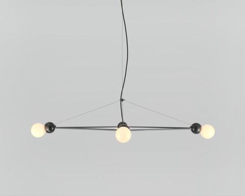 replica Lina 04-Light Diamond Pendant by Rosie Li