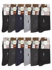 F506-17 носки мужские 40-47 (12шт), цветные