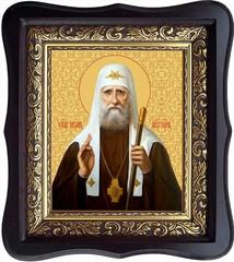 Тихон Белавин Святитель, патриарх Московский и всея России. Икона на холсте.