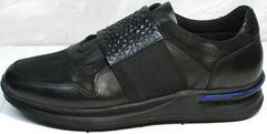 Мужские сникеры Luciano Bellini 1087 All Black