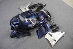 Комплект пластика для мотоцикла Kawasaki ZZR400/600 93-07 Сине-Серебристый