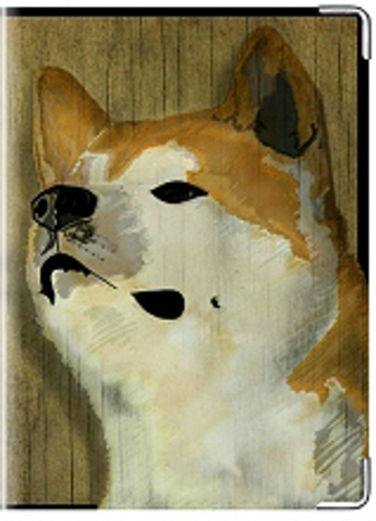 """Обложка для ветеринарного паспорта """"Хатико"""""""