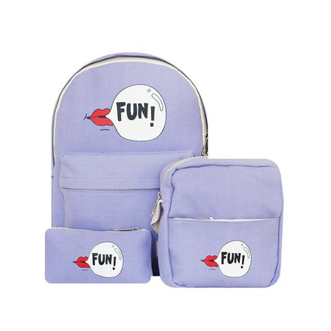 Рюкзак, сумка и кошелек Fun Purple