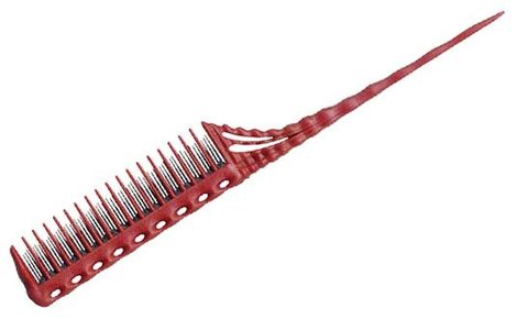 Расчёска для начёса Y.S. Park 150 красная