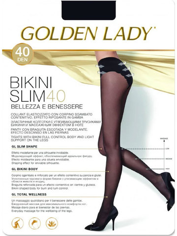 Колготки Bikini Slim 40 Golden Lady