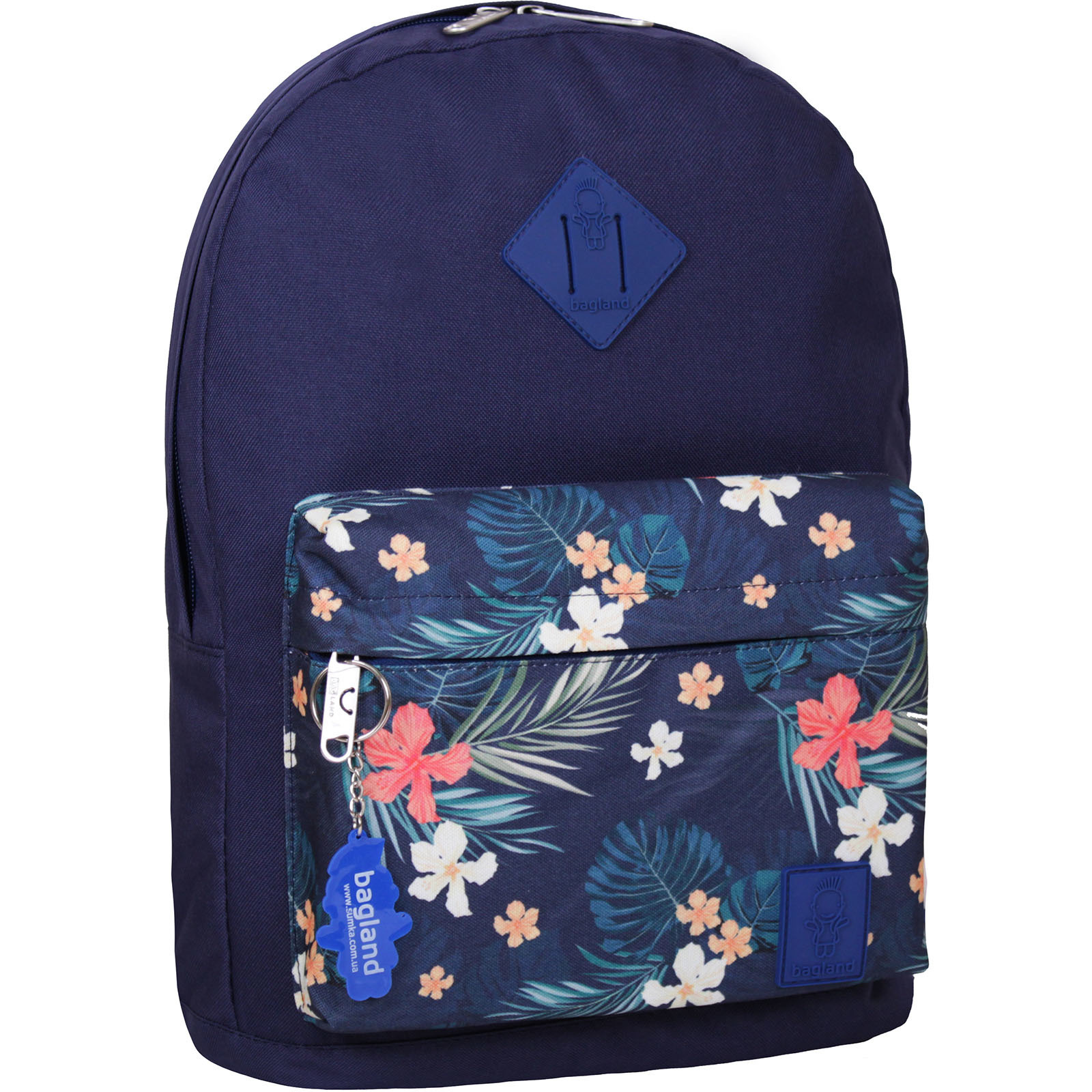 Городские рюкзаки Рюкзак Bagland Молодежный W/R 17 л. 330 чорнильний 103 (00533662) IMG_3770.JPG