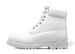Женские Ботинки Timberland 10061 Waterproof White (Осенние)