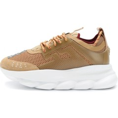 Versace Gold Chain Reaction Trainers (003)
