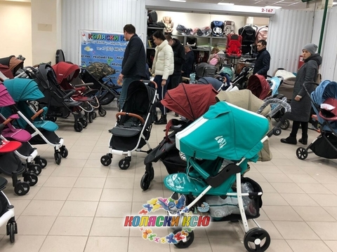 тест драйв колясок в Казани