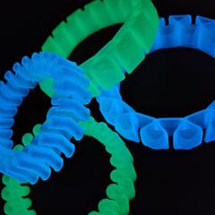 Пластик Filamentarno! PRO-FLEX Lumi зелёный, 1.75 мм 750 гр