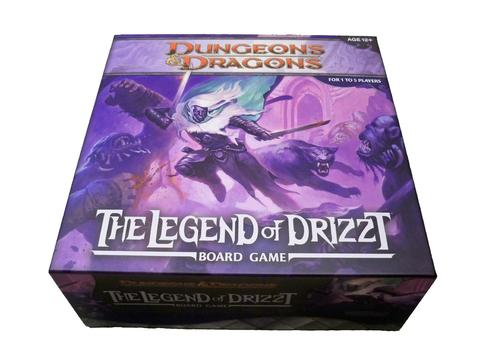 Настольная игра Dungeons and Dragons Board: The Legend of Drizzt ( D&D Легенда о Дзирте)