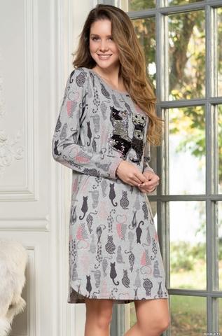 Платье сорочка Mia Cats 1324