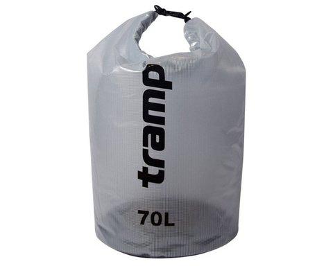 Гермомешок Tramp 70л TRA-108 прозрачный