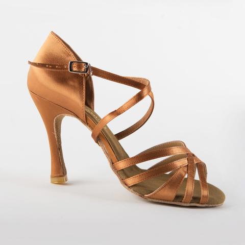 Туфли для латины на каблуке 10 см арт.S294dt10