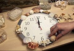 Морской декор часов
