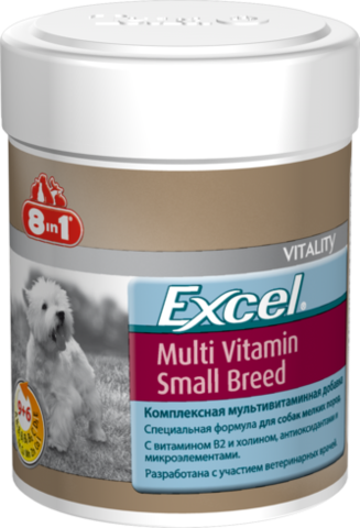 8in1 Excel Multi Vitamin для маленьких собак