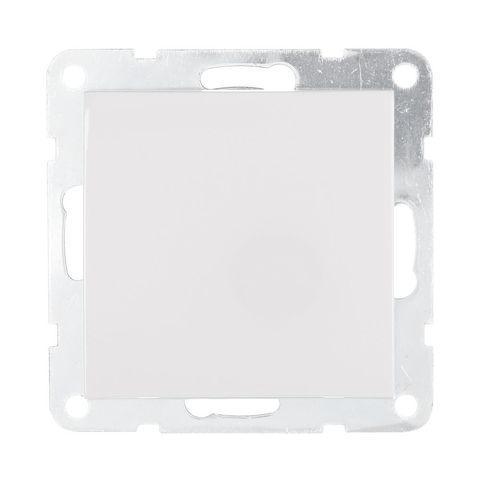 Выключатель одноклавишный, (схема 1) 16 A, 250 В~. Цвет Белый. LK Studio LK60 (ЛК Студио ЛК60). 860104