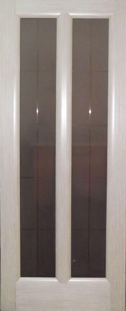 Дверь межкомнатная,Россич,Пегас ДО, Цвета: Беленый дуб, Дуб черный