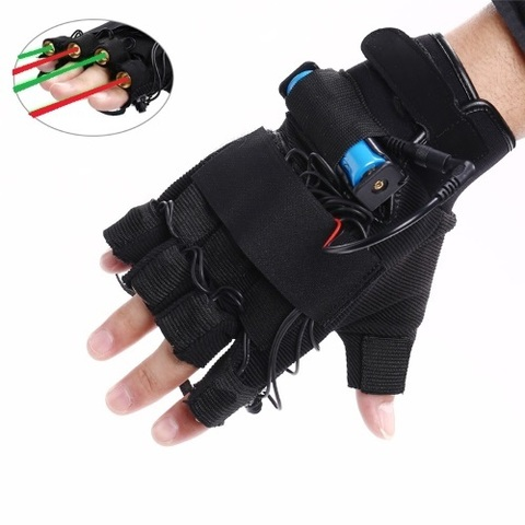 Red-Green Laser Gloves, foto