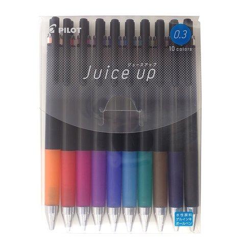 Гелевые ручки Pilot Juice Up 0,3 мм (набор 10 шт.)