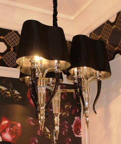 replica Visionnaire Brunilde Chandelier - Ipe cavalli (black + gold )