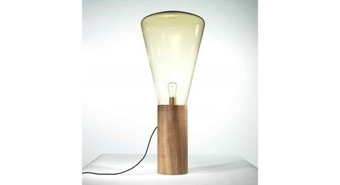 replica floor lamp  MUFFINS WOOD