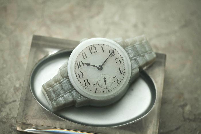 Мыло-часы. Водорастворимая бумага Циферблат