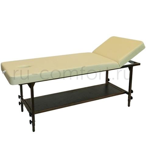 Массажный стол Классик 190х70Р с полкой