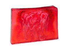 Мыло ручной работы (глицериновое) Земляничое искушение, брусок,1000g ТМ Мыловаров